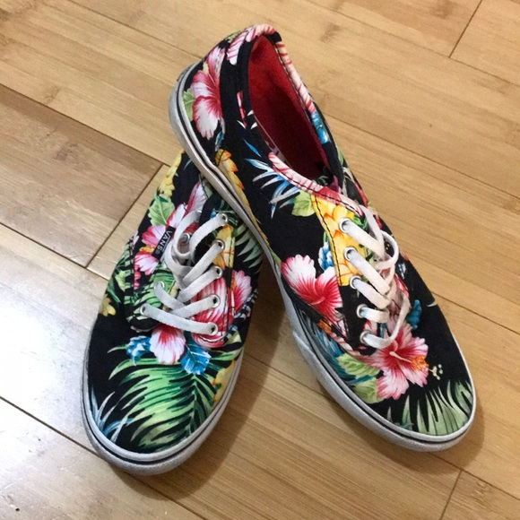 vans atwood low floral
